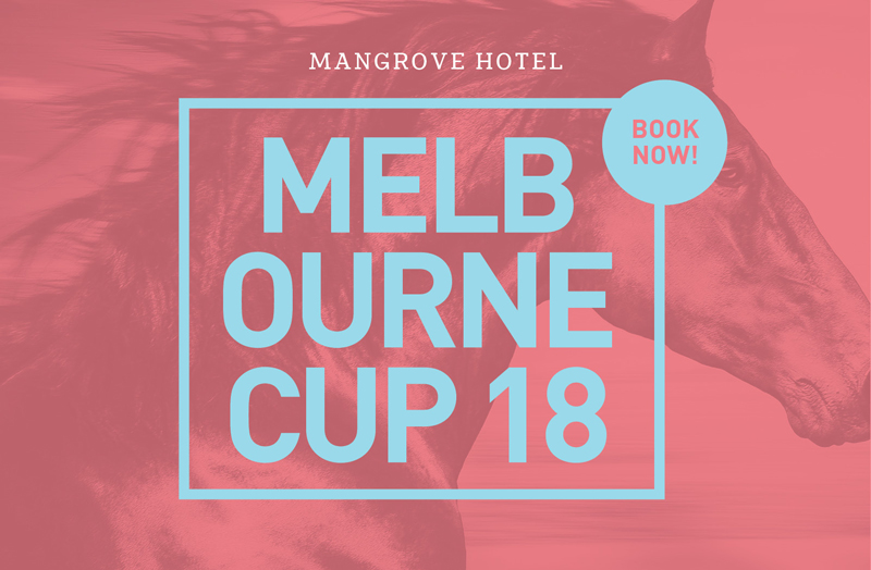 Melbourne Cup at the Mangrove Hotel