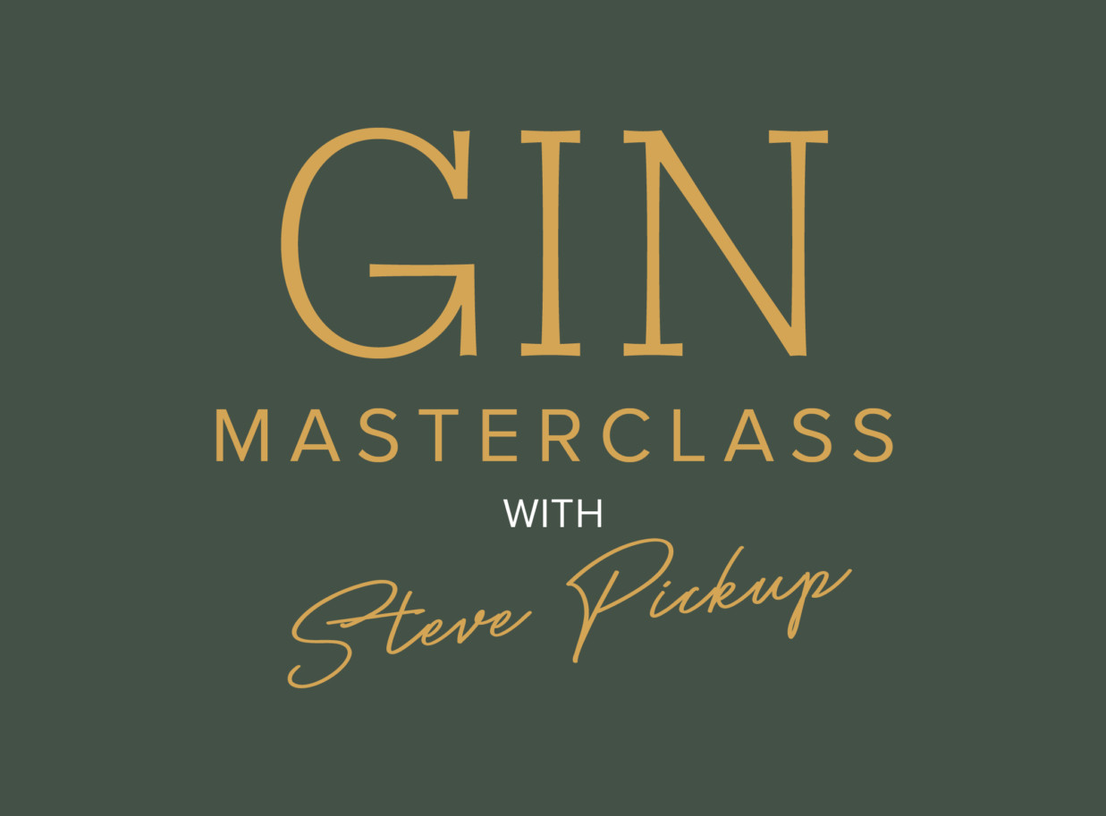 Gin Masterclass with Steve Pickup